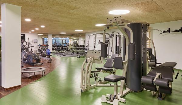 Wirecard AG – Fitnessbereich